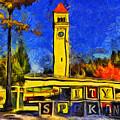 City Spokane - Riverfront Park by Mark Kiver