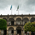 City Square Antigua Guatemala by Douglas Barnett