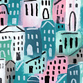 City Stories- Church On The Hill by Linda Woods