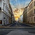 City Street View by Anthony Dezenzio