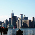 City View From The Island  by Elaine Manley