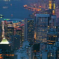 Cityscape From Victoria Peak by Sami Sarkis
