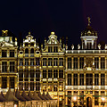 Cityscape In Brussels Europe - Landmark Of Brussels, Belgium by Otto