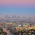 Cityscape Of Los Angeles by Eric Lo