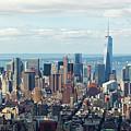 Cityscape View Of Manhattan, New York City. by Antonio Gravante