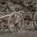 Civil War Cannon And Limber by Randy Steele