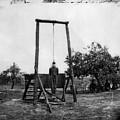 Civil War: Hanging, 1864 by Granger