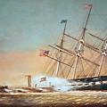 Civil War Merrimack 1862 by Granger