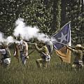 Civil War Re-enactment by Kim Henderson