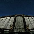 Claerwen Reservoir In Moonlight by Nigel Forster