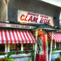 Clam Box Restaurant - Ipswich Ma by Joann Vitali