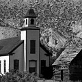 Clapboard Church 1898 by David Lee Thompson