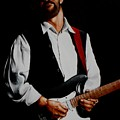 Clapton With Red Strap by Richard Klingbeil
