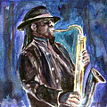 Clarence Clemons by Clara Sue Beym