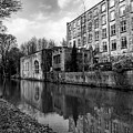 Clarence Mill, Bollington, England by Mickey Stellavato
