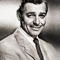Clark Gable, Vintage Hollywood Actor By John Springfield by John Springfield