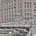 Clark Street Bridge by Jim Cole