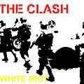 Clash White Riot  by Enki Art