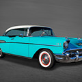 Classic 1957 Chevrolet Bel Air Sport Coupe by Frank J Benz