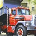 Classic Brockway Dump Truck by David Lane
