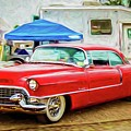 Classic Cadillac by Warrena J Barnerd