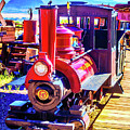 Classic Calico Train by Garry Gay
