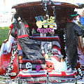Classic Car Decor Day Of The Dead  by Chuck Kuhn