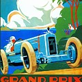 Classic Cars Motor Racing Grand Prix French Riviera 1929  by Heidi De Leeuw