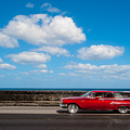 Classic Cuba Car V by Rob Loud