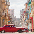Classic Cuba Car Viii by Rob Loud