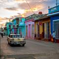 Classic Cuba Cars X1 by Rob Loud