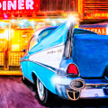 Classic Diner - 57 Chevy by Mark Tisdale