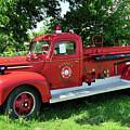 Classic Fire Truck by Betty LaRue