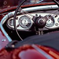 Classic Ford Convertible Interior by Billy Soden