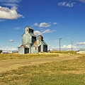 Classic Ghost Grain Elevators by Tatiana Travelways