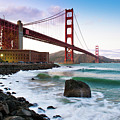 Classic Golden Gate Bridge by Photo by Alex Zyuzikov