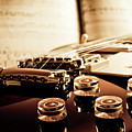 Classic Guitar Still Life With Notes by A Driempixel Photo