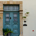 Classic House Entrance In Old Nicosia by Iordanis Pallikaras