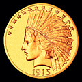 Classic Indian Head Gold by Jim Carrell