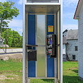 Classic Pay Phone Booth by Edward Fielding