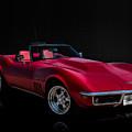 Classic Red Corvette by Douglas Pittman