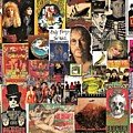 Classic Rock 2 Collage by Doug Siegel