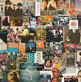 Classic Rock Lp Collage 1 by Doug Siegel