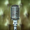 Classic Shure 555w Microphone by Brian Jannsen