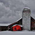 Classic Vermont Barn by Nancy Marshall