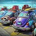 Classic Volkswagen Beetle - Old Vw Bug by Rebecca Korpita