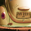 Classic Vw Beetle In Thailand by Georgia Fowler