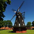Classic Windmill by William Dickman