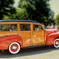 Classic Woody Station Wagon by Roger Soule