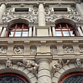 Classical Decorative Building Facade In Vienna by Oana Unciuleanu